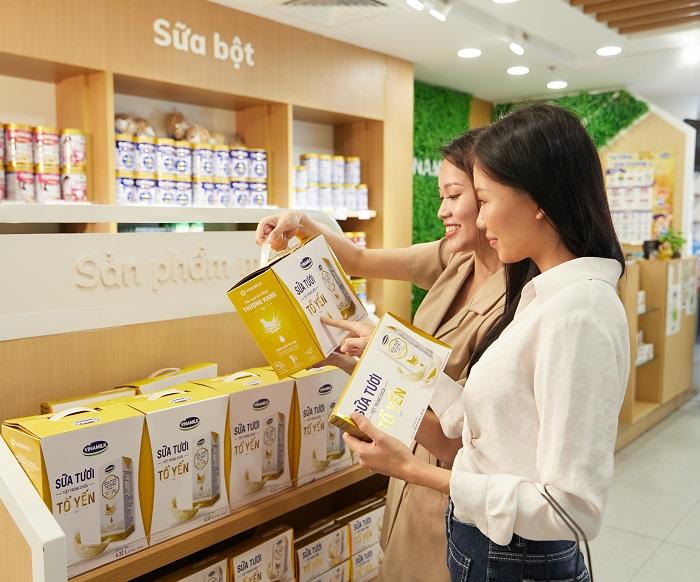 Các sản phẩm mới của Vinamilk giới thiệu được người tiêu dùng đón nhận tích cực.
