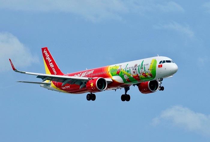 Trở lại bầu trời quốc tế, Vietjet thực hiện những chuyến bay thương mại đầu tiên tới Hàn Quốc.