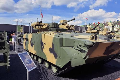 Xe chiến đấu bộ binh Manul thế hệ mới của Nga. Ảnh: TASS.
