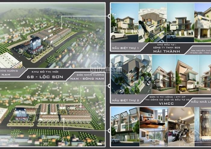 Phối cảnh Dự án khu dân cư 6B, Phường Lộc Sơn, TP. Bảo Lộc, tỉnh Lâm Đồng do CTCP Bất động sản Mãi Thành làm chủ đầu tư.