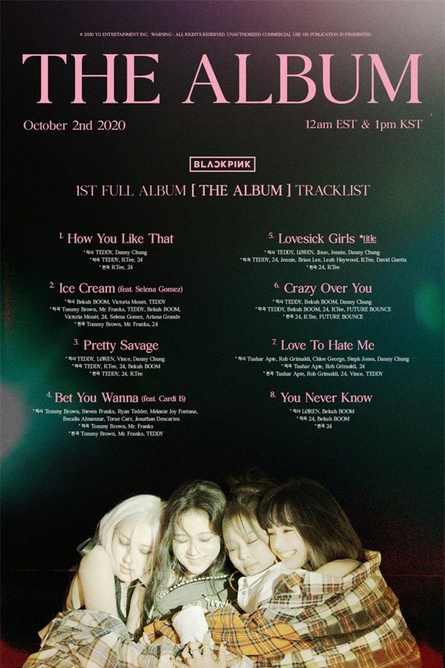 Album vượt mốc 1 triệu bản đặt trước, BLACKPINK tiếp tục lập kỉ lục - Ảnh 1.