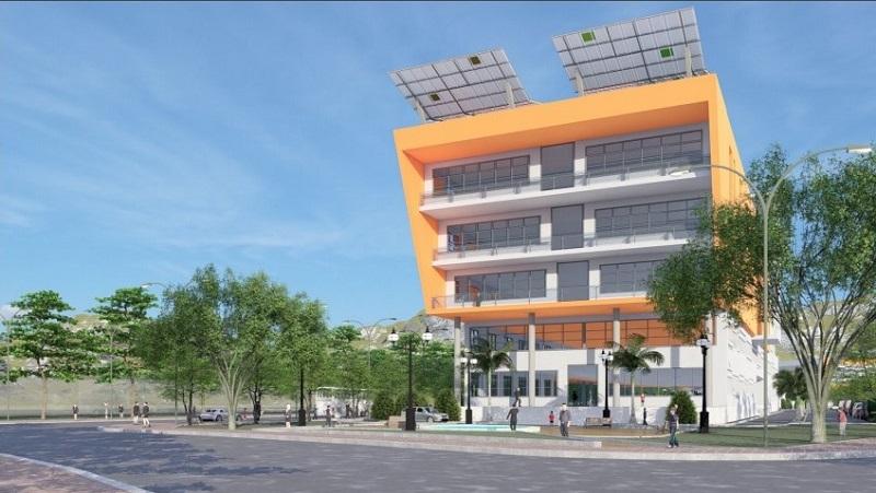 Phối cảnh dự án Bệnh viện Quốc tế chất lượng cao quy mô 300 giường, do Tập đoàn Thế giới Kỹ thuật (TWG) đề xuất đầu tư tại TP. Bảo Lộc, Lâm Đồng.