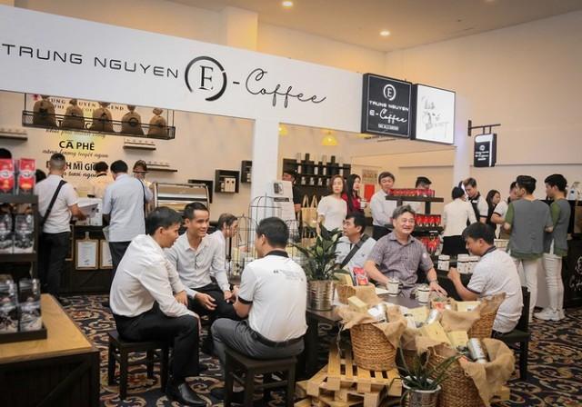 Trung Nguyên E-Coffee - Chuỗi cửa hàng bán lẻ thế giới cà phê