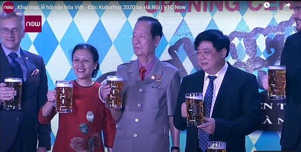 Lễ hội Văn hóa Việt - Đức Kulturfest 2020 từ ngày 2 đến 4/10 tại Trung tâm Hội nghị 37 Hùng Vương, Hà Nội.