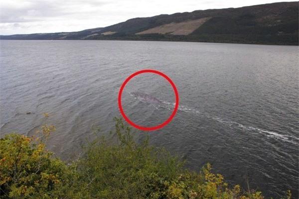 Bức ảnh rõ ràng nhất từ trước đến nay chụp 'quái vật hồ Loch Ness'