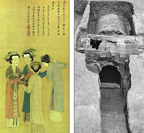 Phát hiện mộ chứa đầy vàng của 'nữ siêu nhân' Trung Quốc