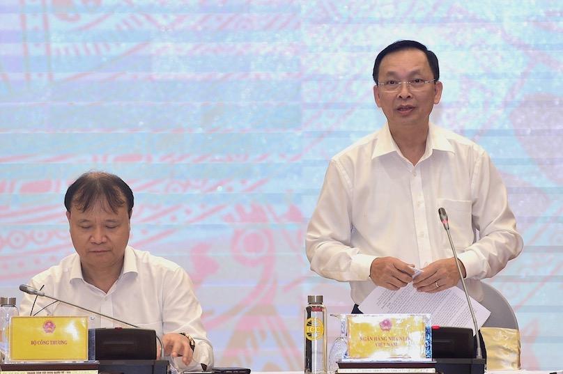 Phó thống đốc Ngân hàng Nhà nước Đào Minh Tú - ảnh: VGP.