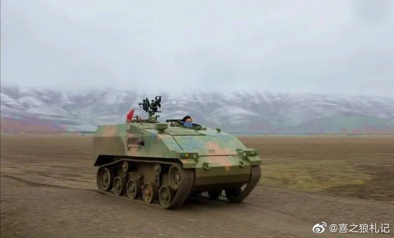 Xe thiết giáp nhảy dù Trung Quốc sao chép Wiesel 2 của Đức. Ảnh: Sina.
