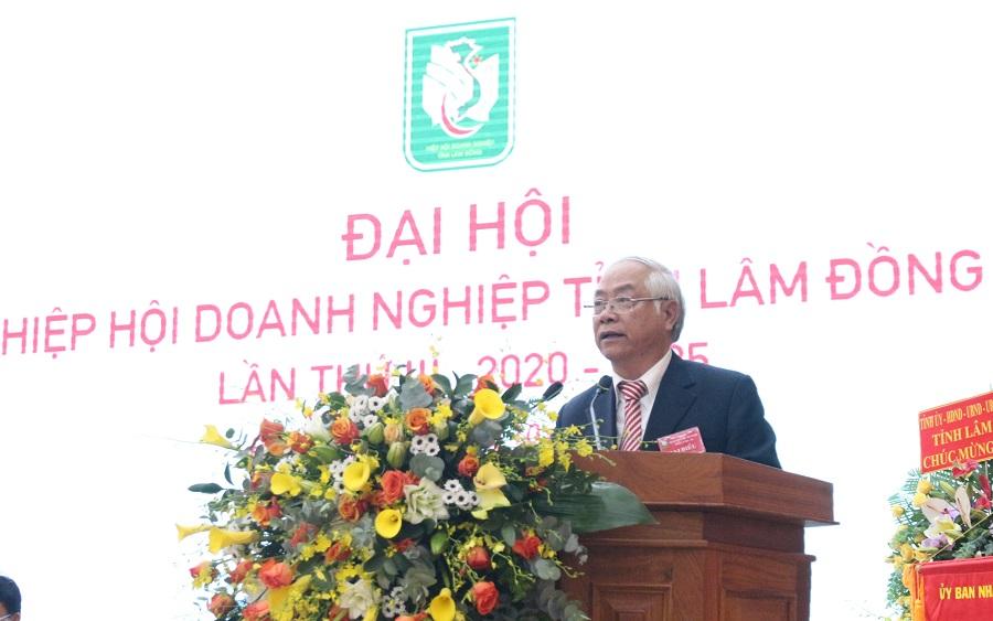 Ông Đinh Minh Quý được Đại hội Hiệp hội Doanh nghiệp tỉnh Lâm Đồng nhiệm kỳ III tiếp tục tín nhiệm bầu làm Chủ tịch Hiệp hội.