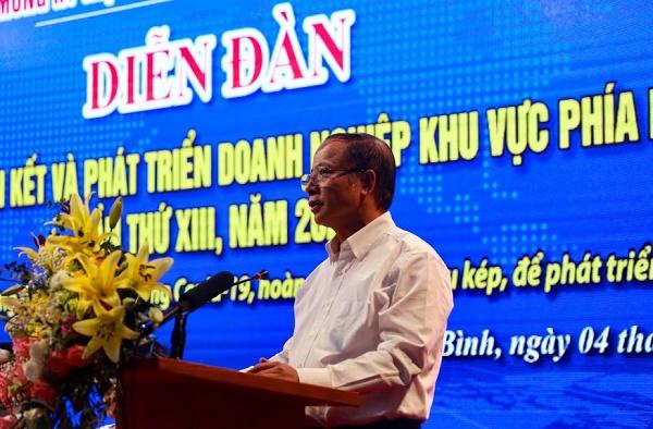 Chủ tịch Hiệp hội Doanh nghiệp nhỏ và vừa Việt Nam Nguyễn Văn Thân.