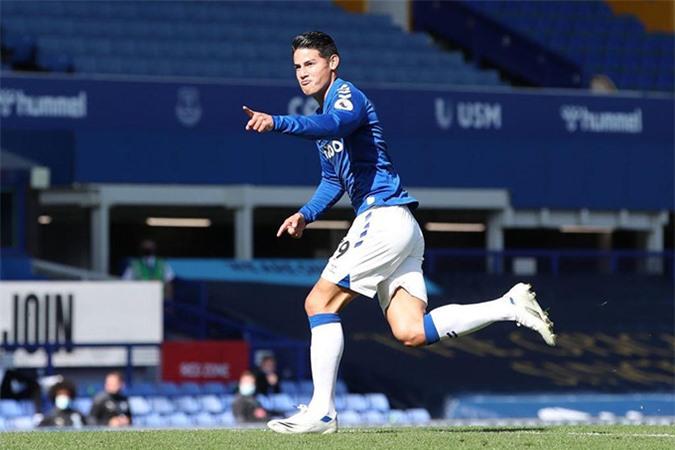 Nc247info tổng hợp: James Rodriguez và Ancelotti đang nâng tầm Everton