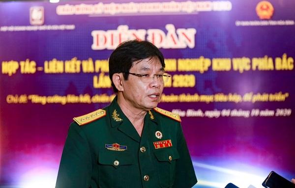 Ông Nguyễn Thành Biên, Phó Chủ tịch Hiệp hội Doanh nghiệp nhỏ và vừa tỉnh Hòa Bình.