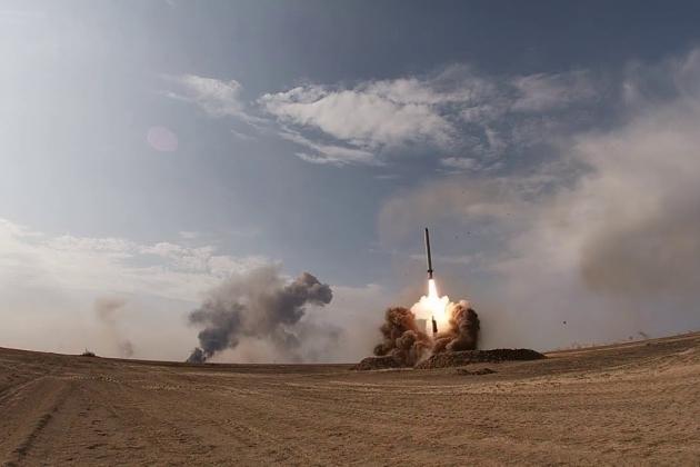 Có thông tin cho rằng Armenia đã sử dụng tên lửa đạn đạo Iskander-E để trả đũa Azerbaijan. Ảnh: Avia-pro.
