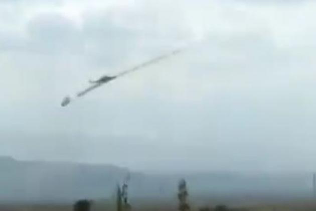 Trực thăng vũ trang Mi-24 đã được Azerbaijan huy động tham gia tấn công. Ảnh: Avia-pro.