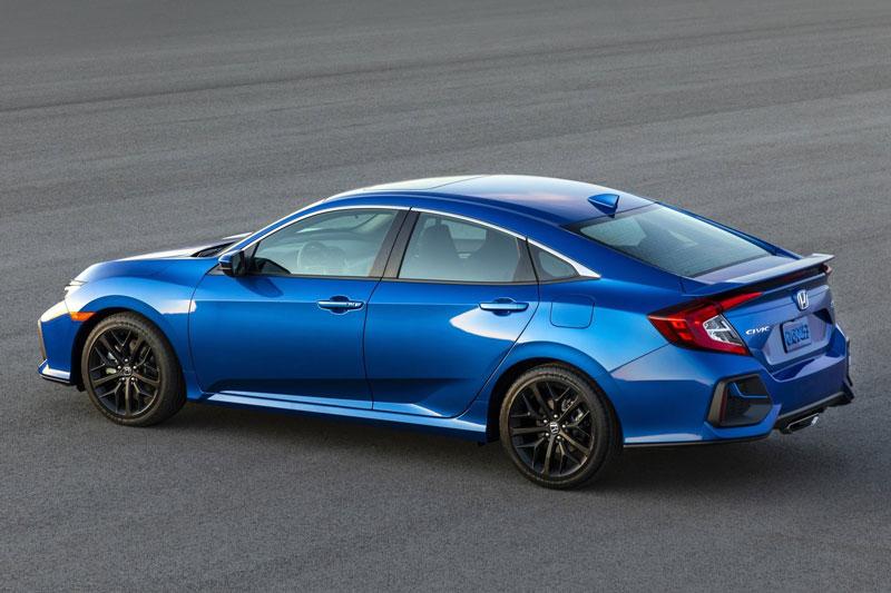3. Honda Civic Si 2020 (giá khởi điểm: 25.200 USD, điểm tổng thể: 8,5/10).
