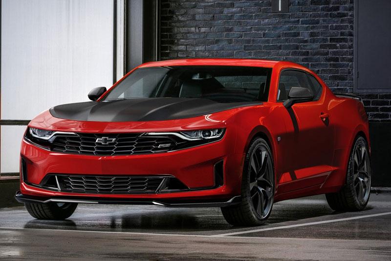 6. Chevrolet Camaro 2020 (giá khởi điểm: 25.000 USD, điểm tổng thể: 7,9/10).