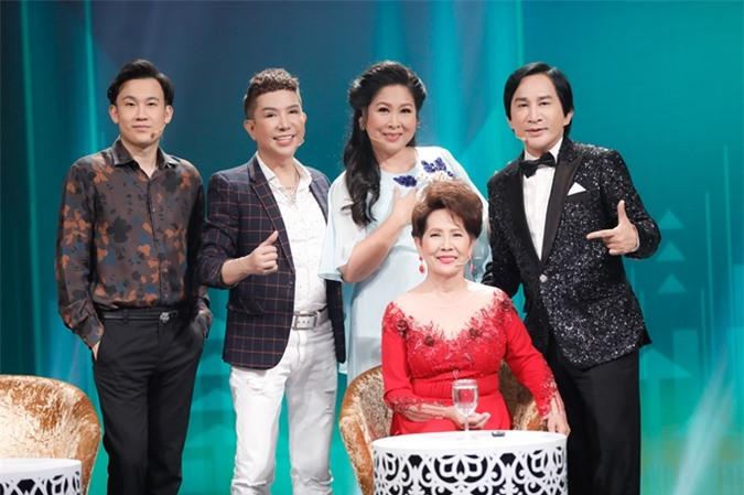 Dàn nghệ sĩ khách mời của Ca sĩ ẩn danh: danh ca Phương Dung, NSND Hồng Vân, NSƯT Kim Tử Long, ca sĩ Long Nhật, ca sĩ Dương Triệu Vũ.