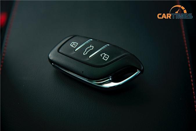 Chìa khoá xe MG HS