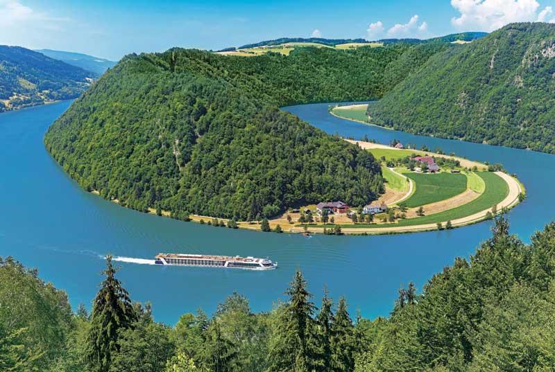 4. Sông Danube (châu Âu).