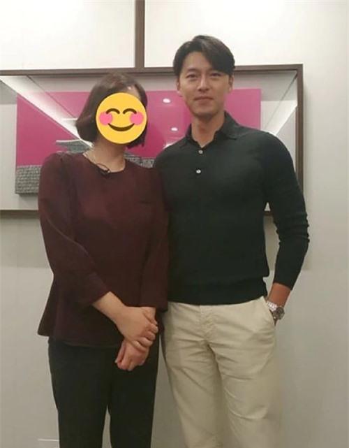 Hình ảnh mới của Hyun Bin.