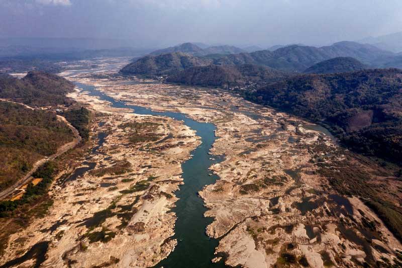 6. Sông Mekong (Trung Quốc, Lào, Myanma, Thái Lan, Campuchia và Việt Nam).
