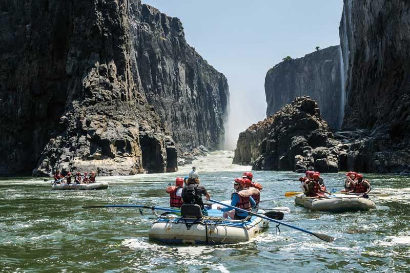 7. Sông Zambezi (châu Phi).