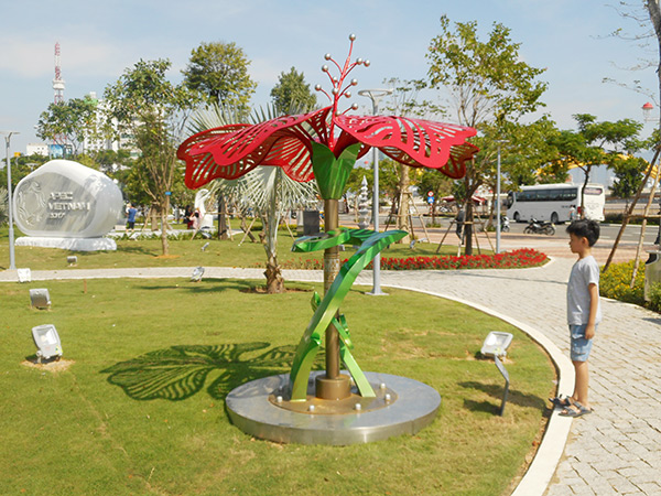 Vườn tượng APEC sẽ được TP Đà Nẵng khởi công dự án mở rộng vào ngày 8/10 tới