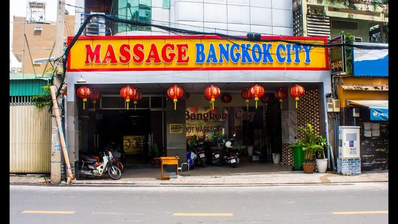 Cơ sở massage Bangkok city từng nhiều lần bị xử phạt.