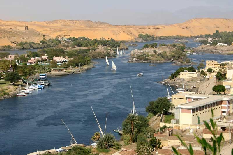 2. Sông Nile (châu Phi).