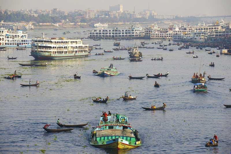 5. Sông Hằng (Ấn Độ).