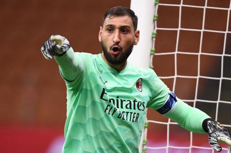 Thủ môn: Gianluigi Donnarumma (AC Milan).
