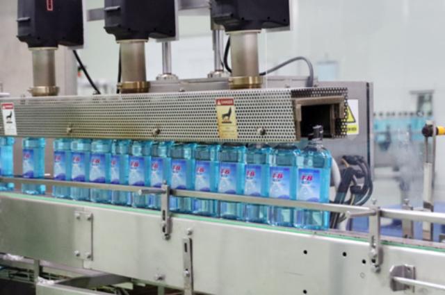 Dây chuyền sản xuất nước súc miệng T.B tự động hoàn toàn