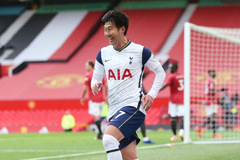 Tiền vệ trái: Son Heung-min (Tottenham).