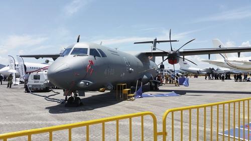 ATR 72MP của Leonardo, được nhìn thấy ở đây tại LIMA 2017 ở Langkawi. Đây là một trong số các loại máy bay được nghiên cứu cho các yêu cầu tuần tra hàng hải của Malaysia. Ảnh: Janes Defense.