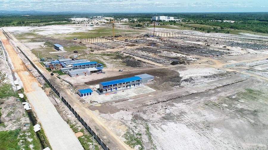 Nhiều dự án đang được triển khai xây dựng đầu tư tại Khu công nghiệp Phong Điền, huyện Phong Điền, tỉnh Thừa Thiên Huế.
