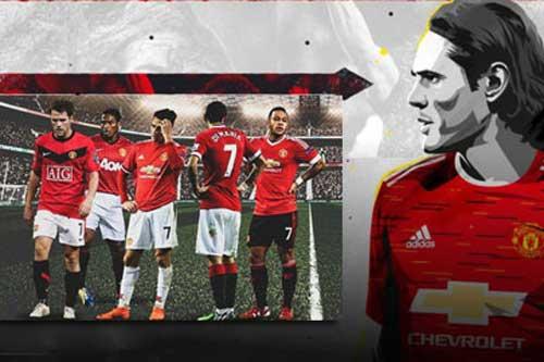 Edinson Cavani đã gia nhập Man United theo dạng chuyển nhượng tự do và dự kiến sẽ được trao cho chiếc áo số 7 huyền thoại ở M.U