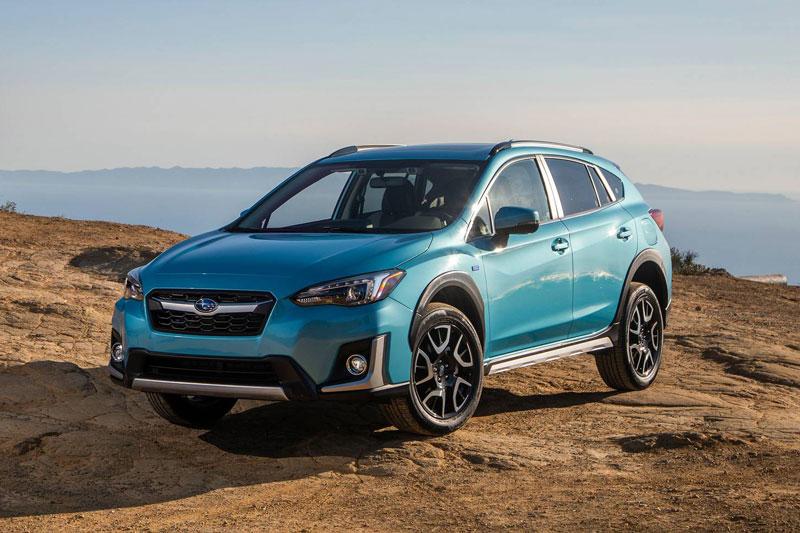 1. Subaru Crosstrek Hybrid 2020 (điểm an toàn: 10/10, giá khởi điểm: 35.145 USD).