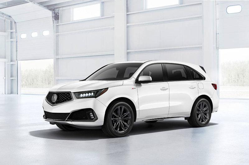 4. Acura MDX 2020 (giá khởi điểm: 44.500 USD, điểm tổng thể: 8,2/10).