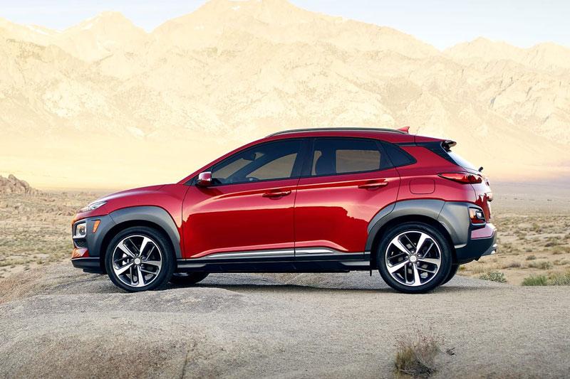 =6. Hyundai Kona 2020 (điểm an toàn: 9,8/10, giá khởi điểm: 20.300 USD).