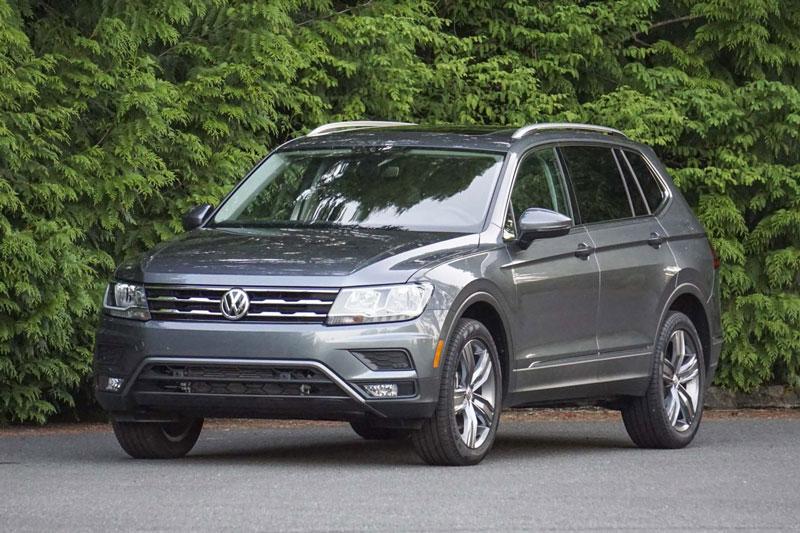=6. Volkswagen Tiguan 2020 (điểm an toàn: 9,8/10, giá khởi điểm: 24.945 USD).