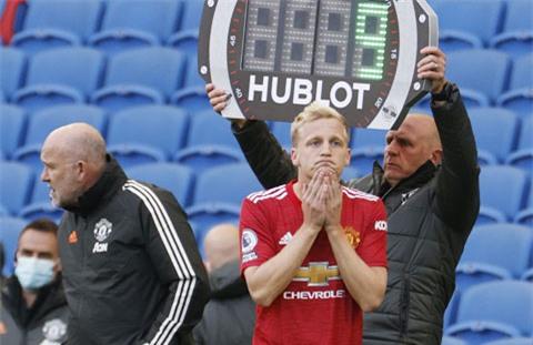 Van de Beek được M.U mua về với giá 35 triệu bảng nhưng chưa 1 lần đá chính