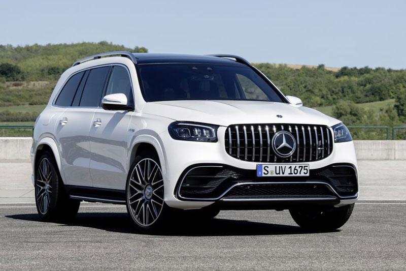 Mercedes-AMG GLS 63 2021.