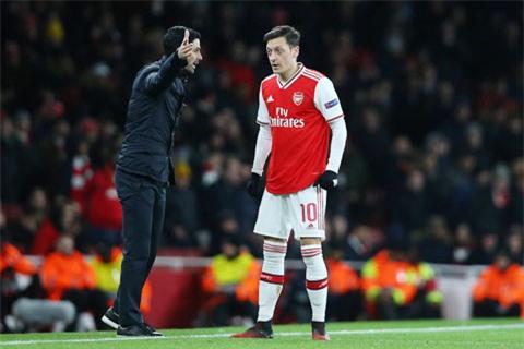 Mikel Arteta vừa khẳng định sẽ rất khó khăn để Mesut Oezil lấy lại được vị trí chính thức tại Arsenal