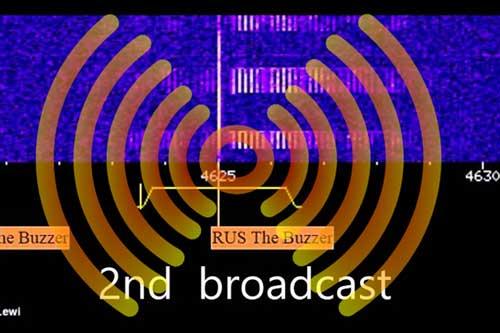 Những tiếng rè được phát đi từ tần số 4625 kHz.