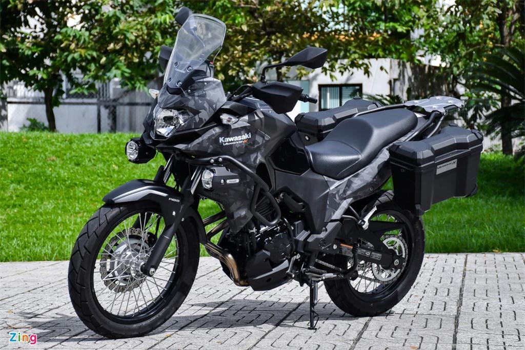 Kawasaki Versys 300 Tourer.