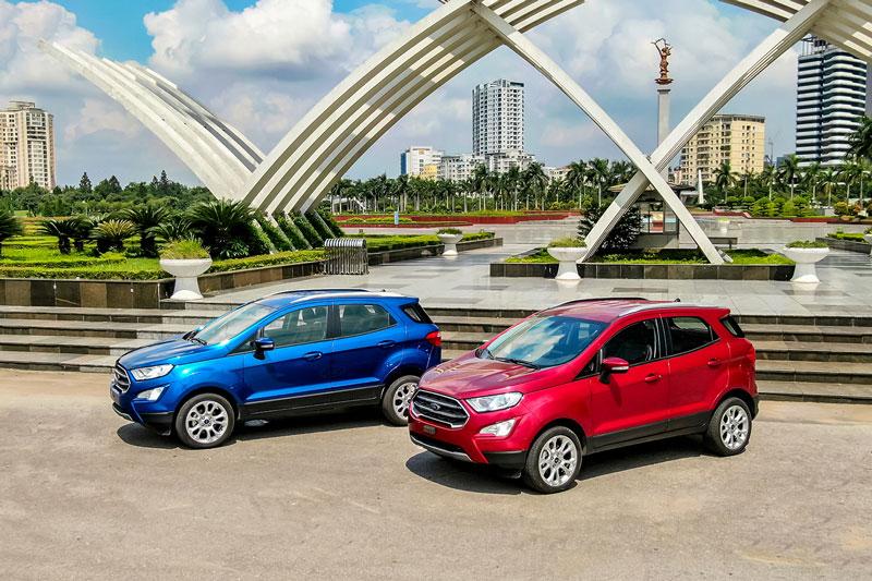 Ford EcoSport 2020 ra mắt tại Việt Nam, giá từ 603 triệu, 'đe nẹt' Hyundai Kona, Kia Seltos