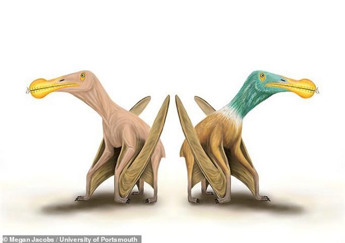 Kinh hoàng quái vật khỏa thân biết bay, ăn thịt cả khủng long - Ảnh 1.