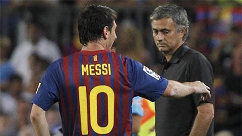Messi suýt chút nữa trở thành học trò Mourinho