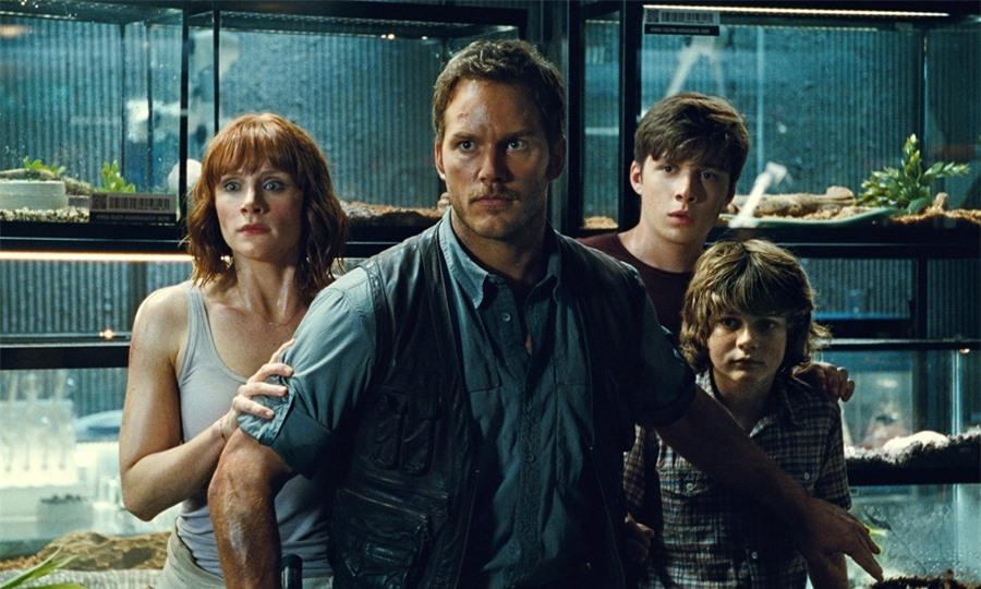 Loạt phim về thế giới khủng long Jurassic Wolrd gắn liền tên tuổi của tài tử Chris Pratt.