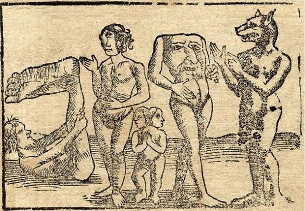 Mắt và miệng của những inh vật thuộc bộ lạc không đầu được đặt ở ngực. Ảnh: BáoKhám phá